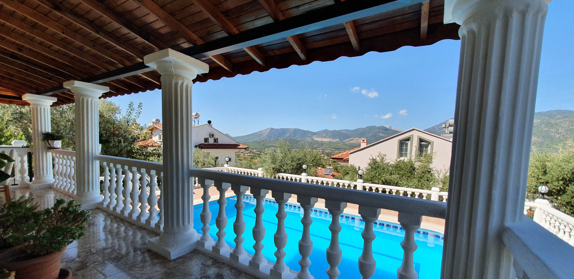 Lounge terrace balcony