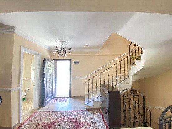 Entrance hallway and stairs