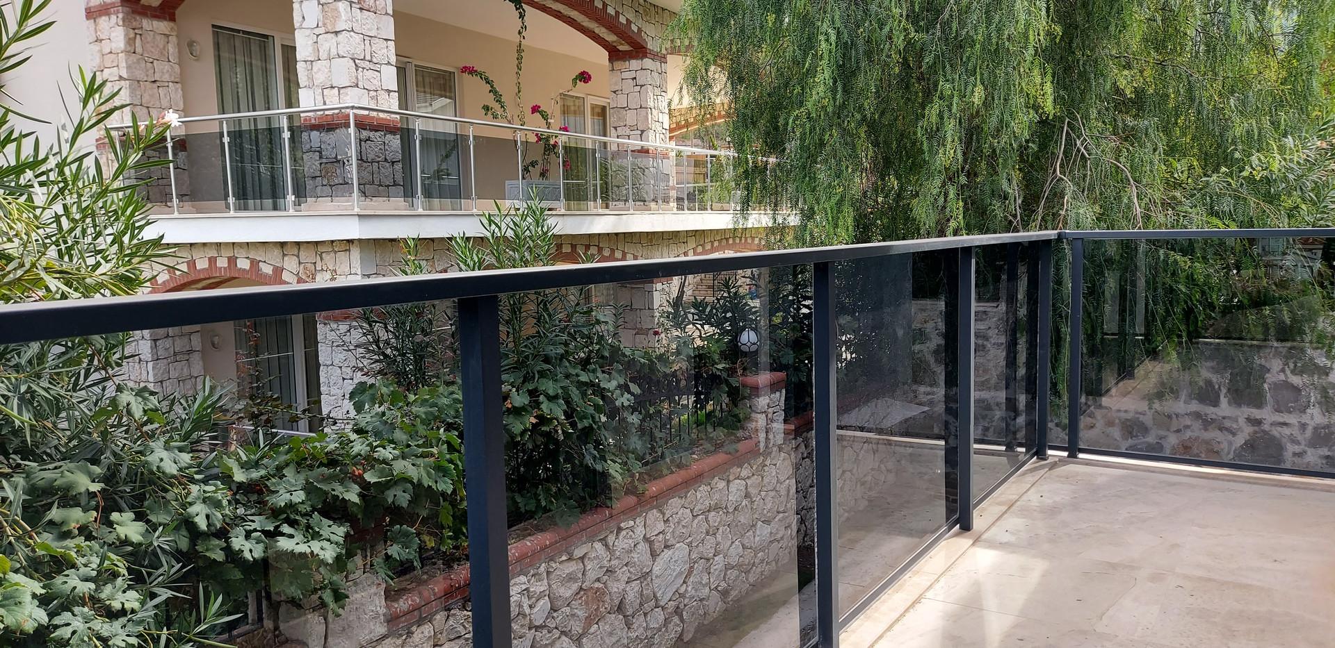 Rear Balcony from Bedrooms 1 & 2