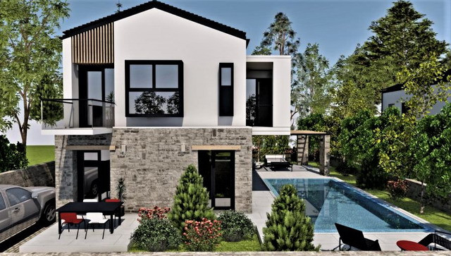 Modern 3 Bed Villa
