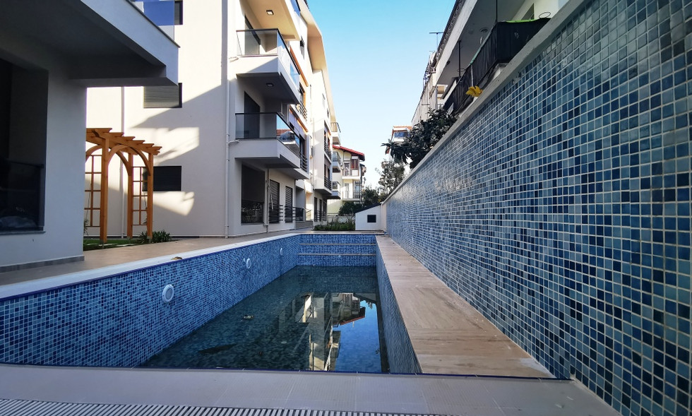 Communal Pool (Winter View)