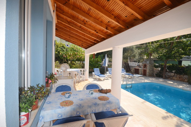 Poolside Terrace Balcony