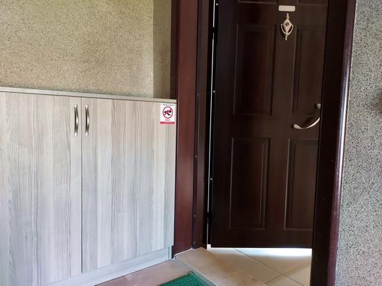 Steel Entrance Door/Hallway Storage
