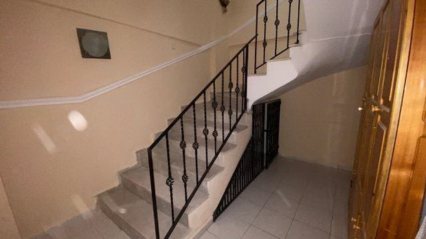 Lower ground hallway