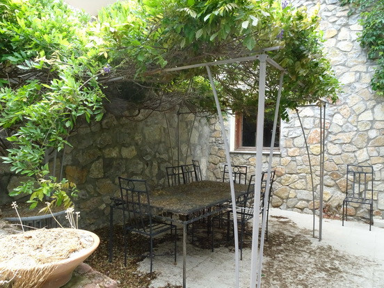 Shady Dining Area