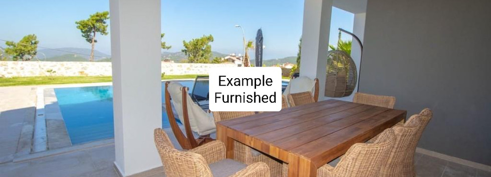 Example of Terrace Furnished