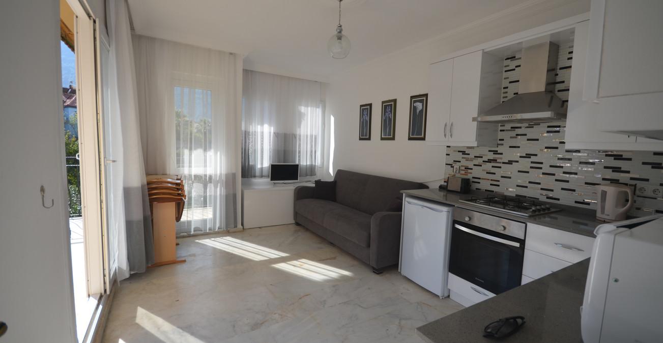 Lounge and Modern Kitchen