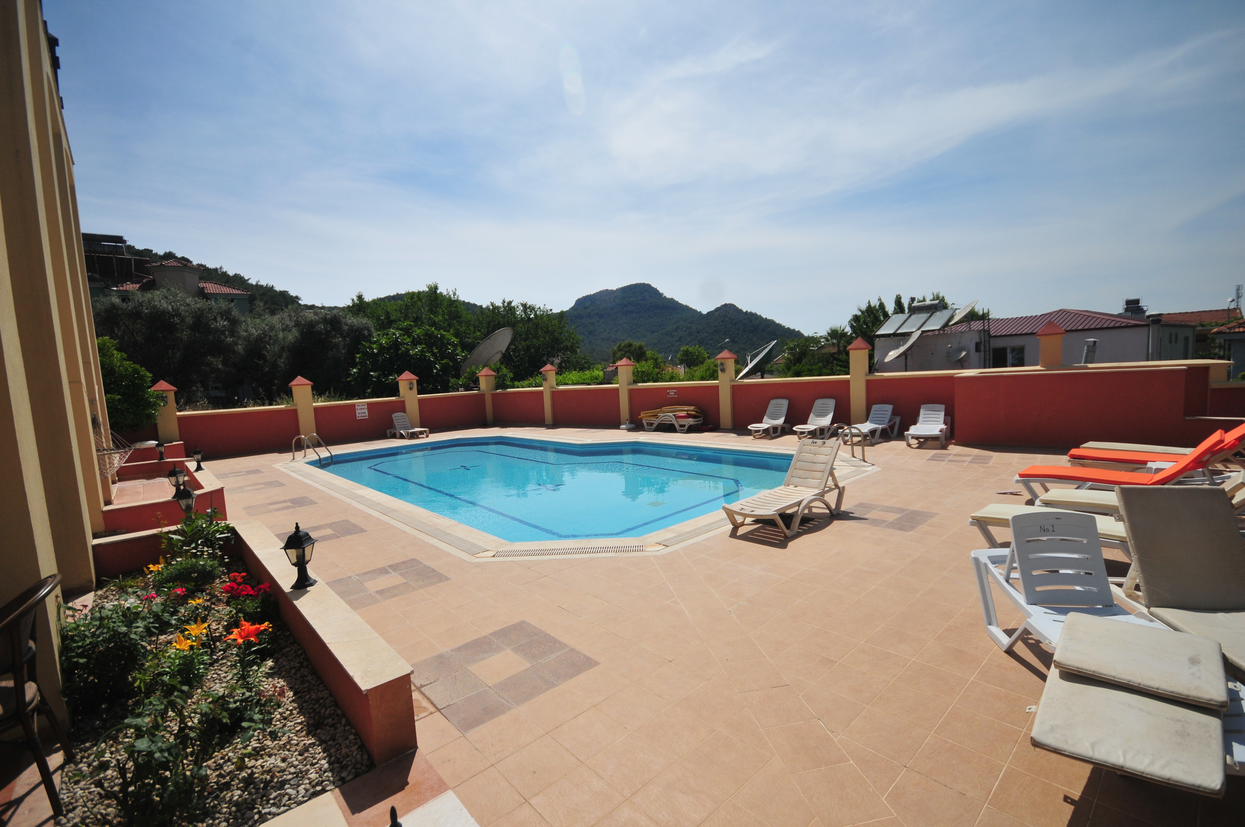 4. pool with mountain views