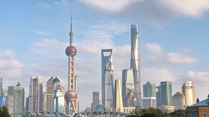 Shanghai-Classic-tour-skyline-of-Shangha