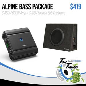 Alpine Bass Package