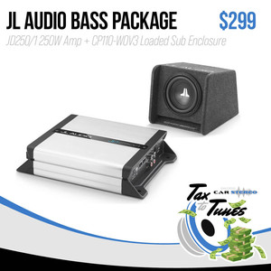 JL Audio Bass Package