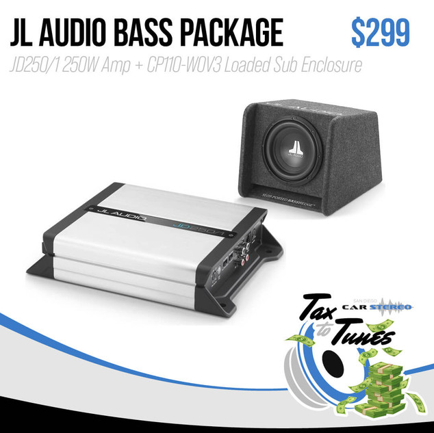 JL Audio Bass Package