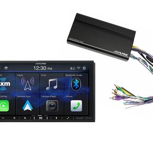 Alpine CarPlay with 4-Channel Amp.  ILX-407 & KTA-450 – $699