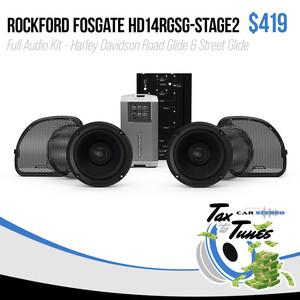 Rockford Fosgate Stage2 Audio Kit - Harley Davidson