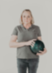 Bowling Portrait, Studio Photography