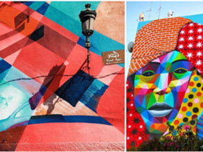 Street art in the heart of Morocco