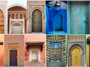 The Colorful Doors Of Morocco