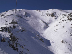 Skiing in Africa- Morocco's lovely ski resort, where you can see the Sahara from the slopes