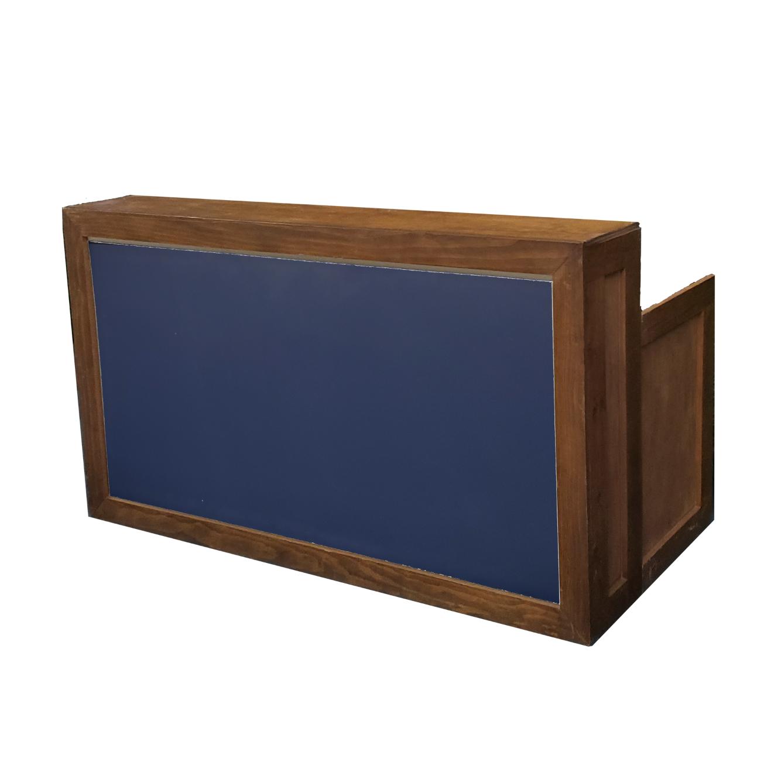 Wood Frame Bar/Navy Insert  $200