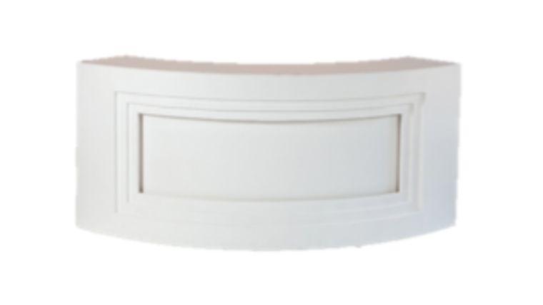Modern Curve White Bar $250