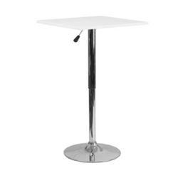 Square Chrome Adjustable Cocktail