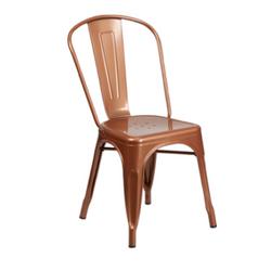Copper Metal Chair