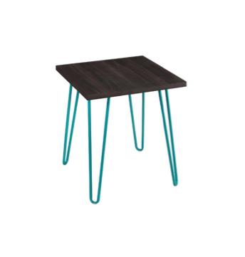 Aqua Retro Side Table $30