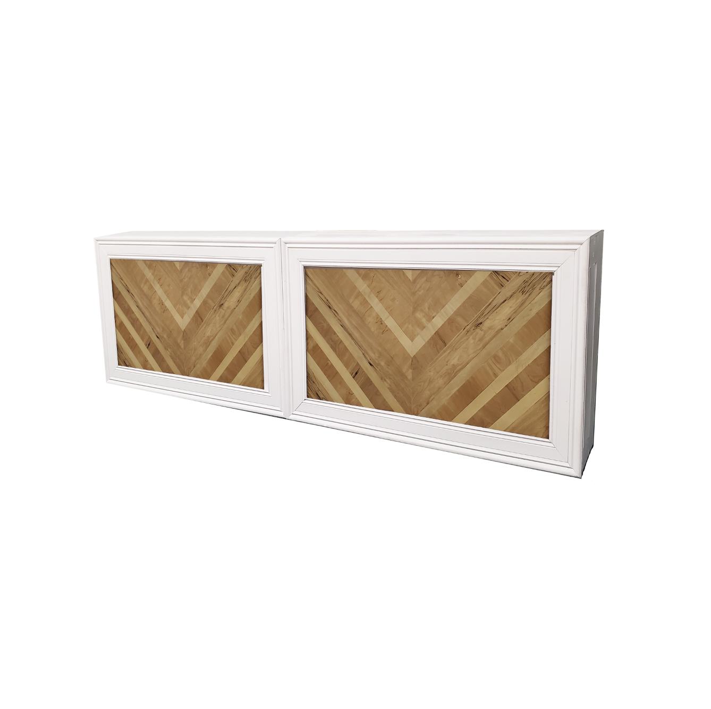 Double White Frame/Herringbone Insert $500