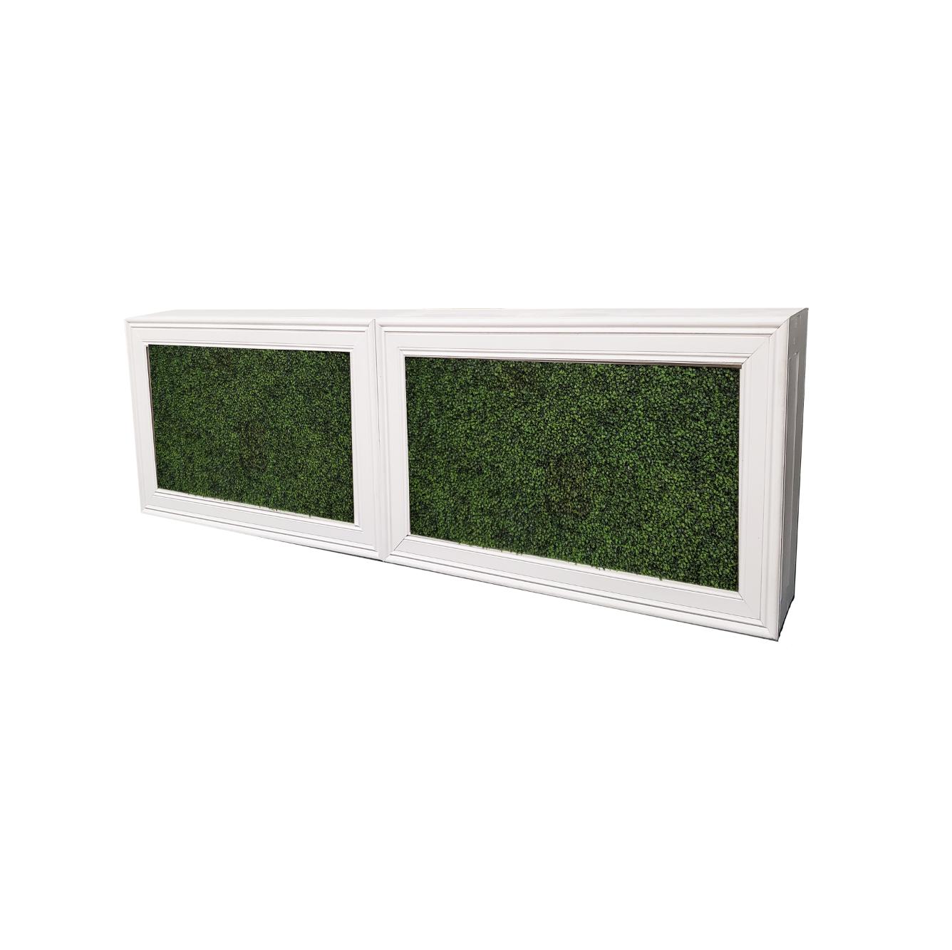 Double White Frame/Hedge Insert $500