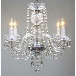 5- Light Crystal Chandelier