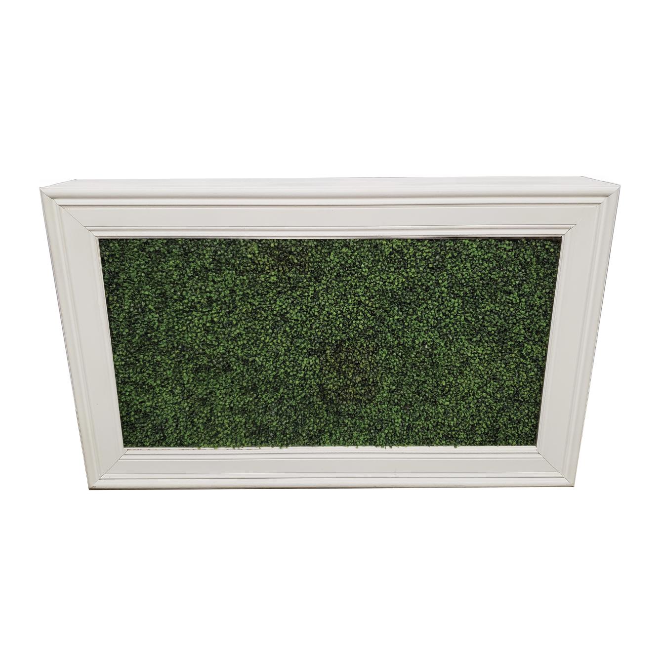 White Frame/Hedge Insert $250