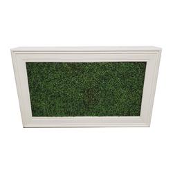 White Frame/Hedge Insert
