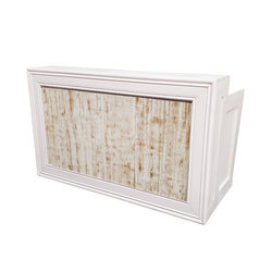 White Frame/Whitewash Insert $250