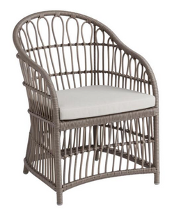 Grey Wicker Chairs