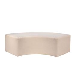 Metallic Elbow Linen Slipcover $100