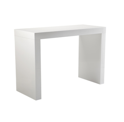 White Acrylic Communal Table  $200