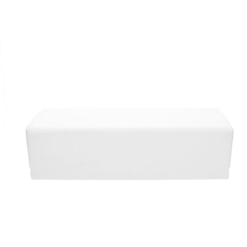 Twinkie Ottoman White - $100