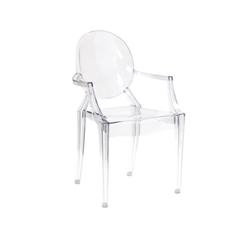Clear Arm Chair