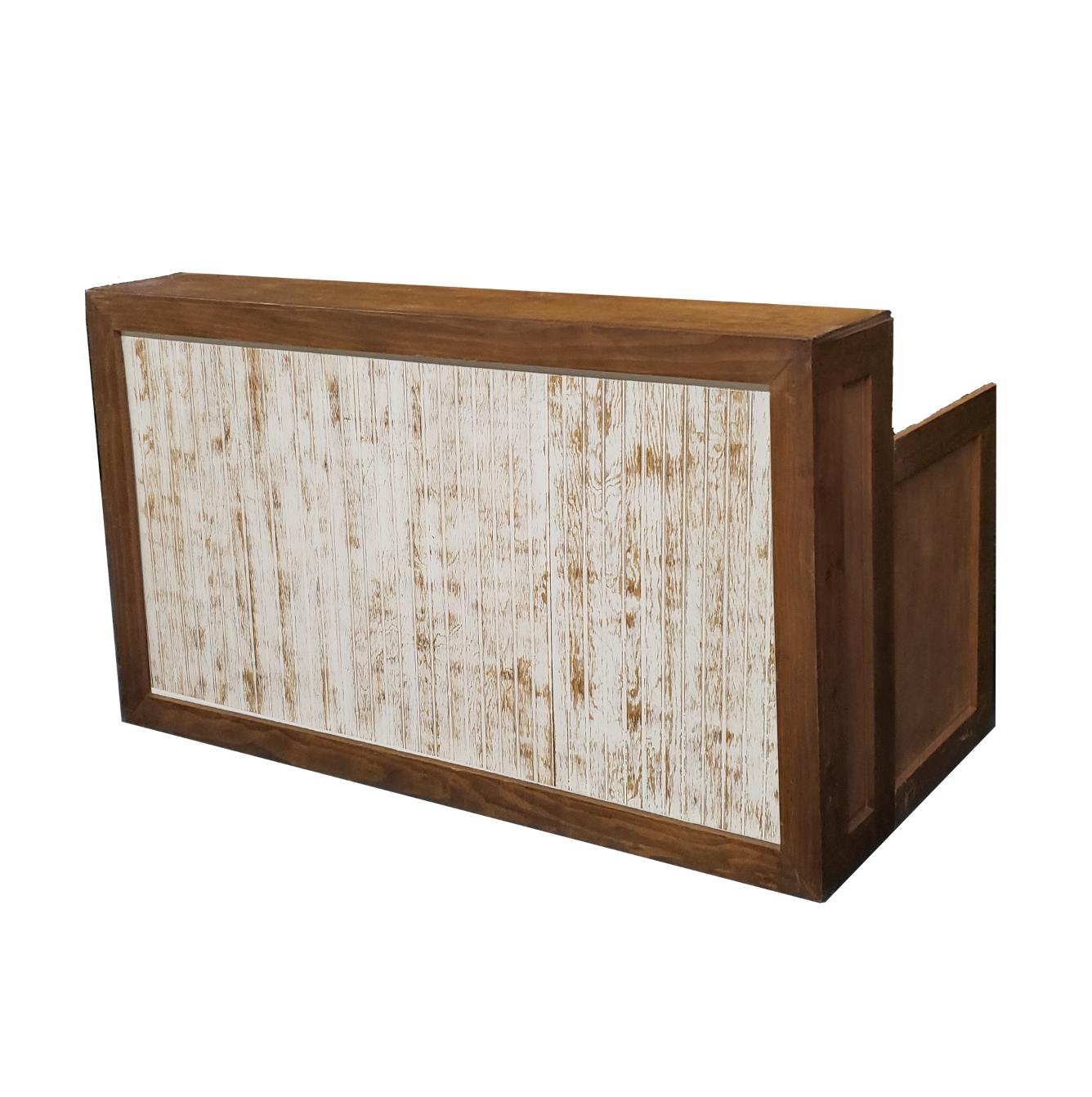 Wood Frame Bar/White Wash Insert  $200