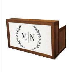Wood Frame Bar/Custom Insert $200