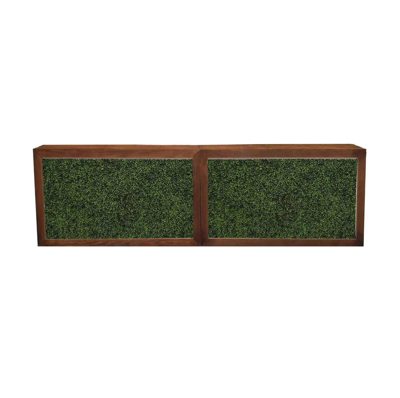 Double Wood Frame Bar/Hedge Insert $400