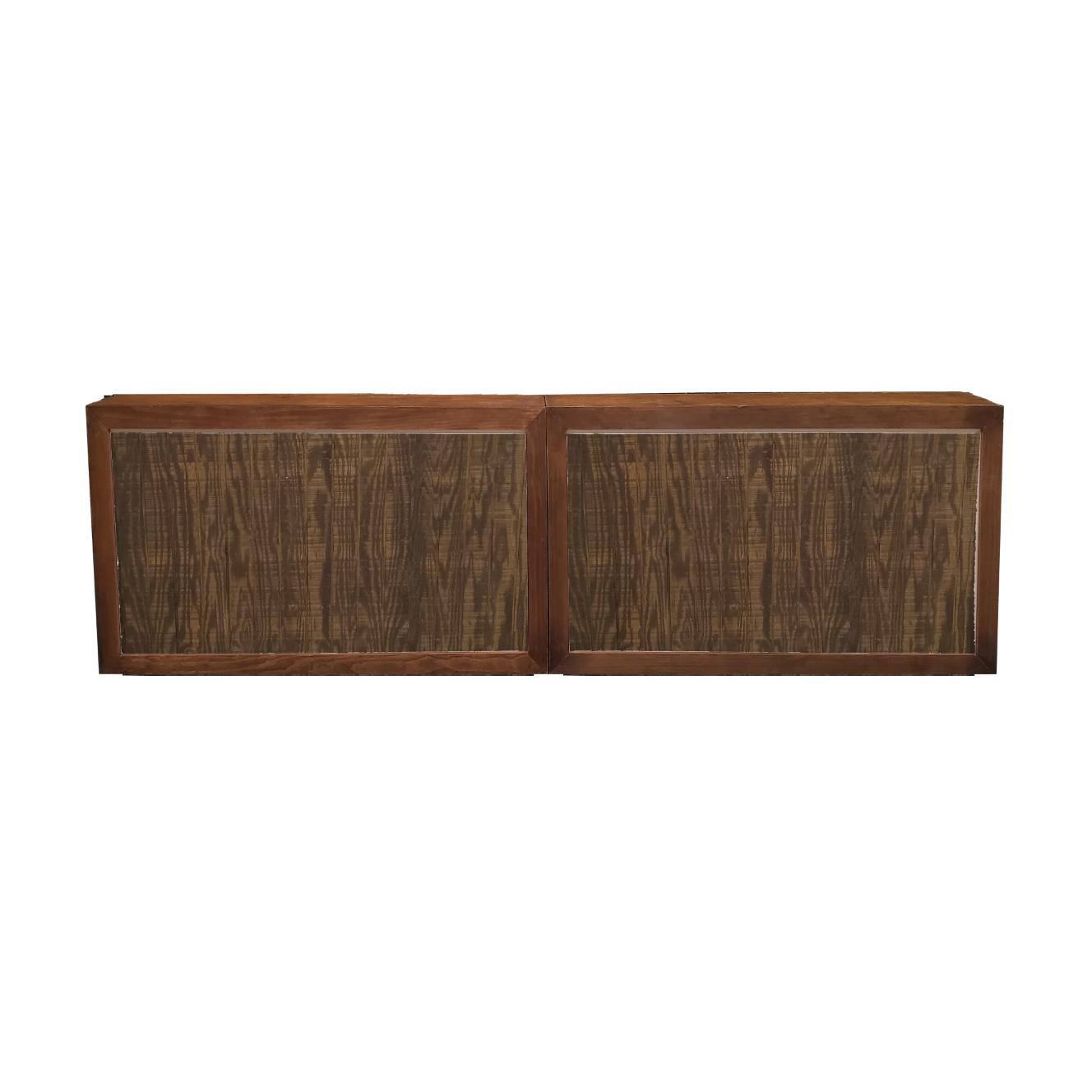 Double Wood Frame Bar/Mahogany Insert  $400
