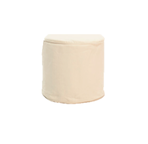 Cream Round Slipcover $40