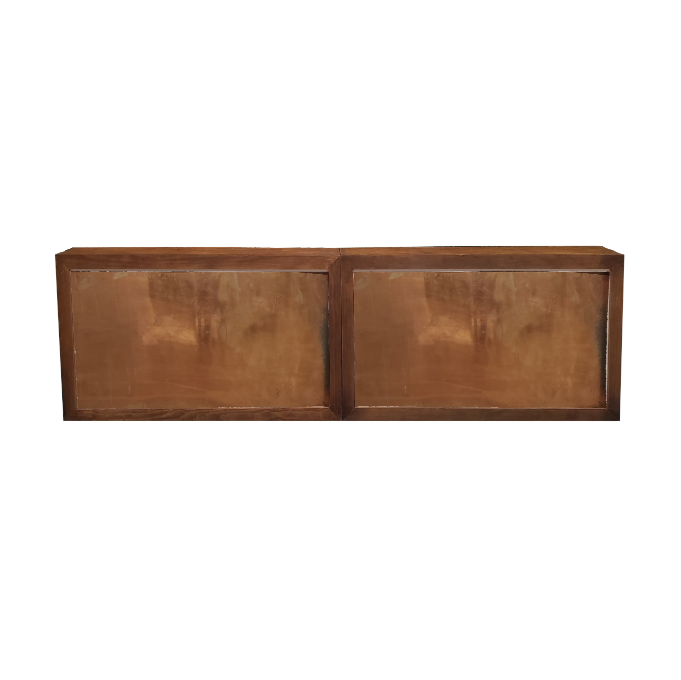 Double Wood Frame Bar/Copper Insert $400