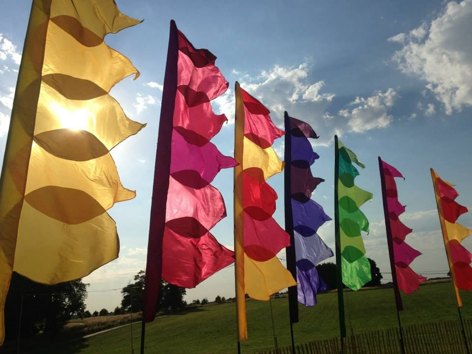 Colorful Air Flags