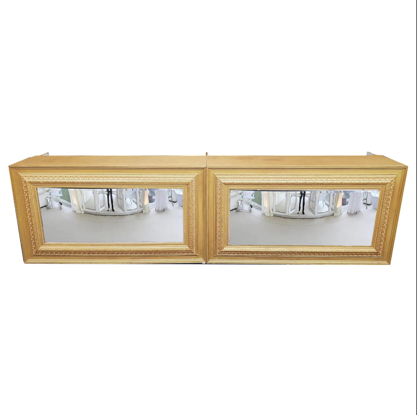 Double Gold Mirror Bar $400