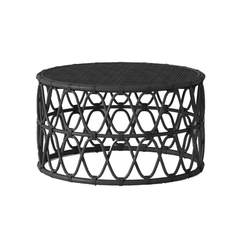 Jewel Round Coffee Table Black