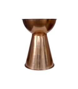 Copper Bongo Side Table