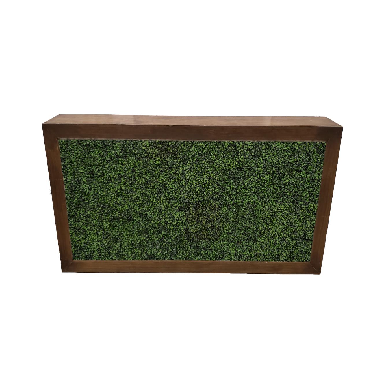 Wood Frame Bar/Hedge Insert $200