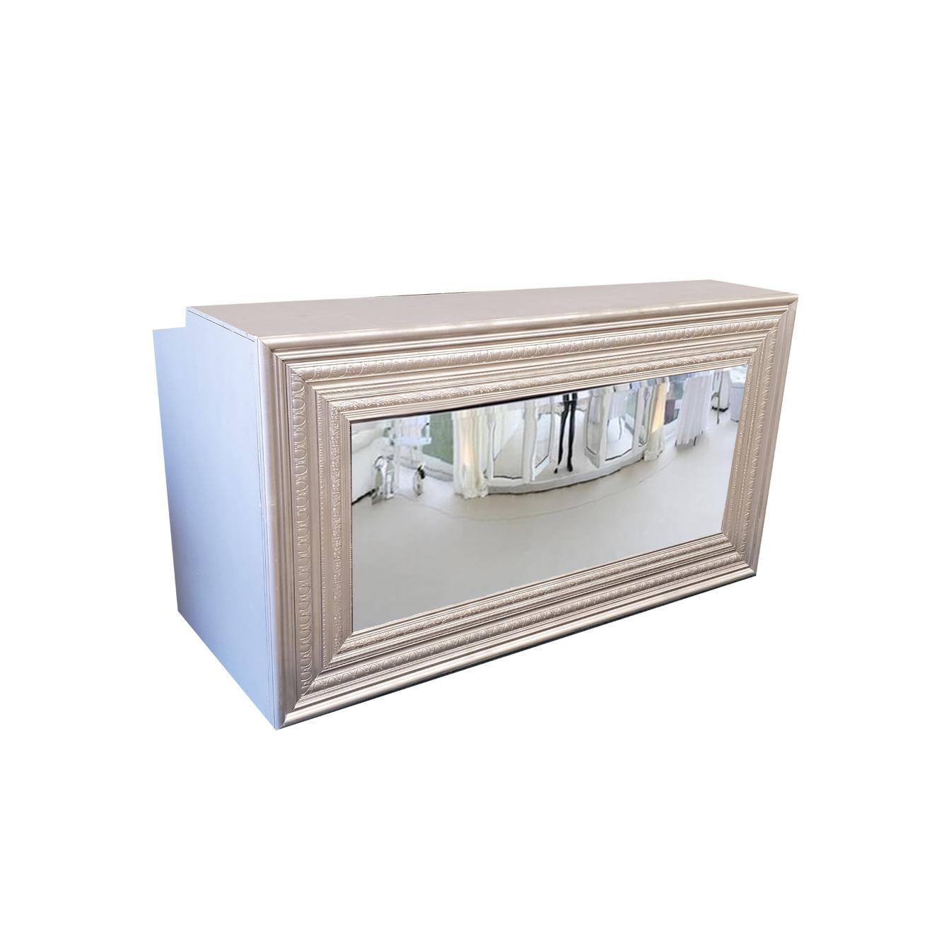 Silver Mirror Bar $200